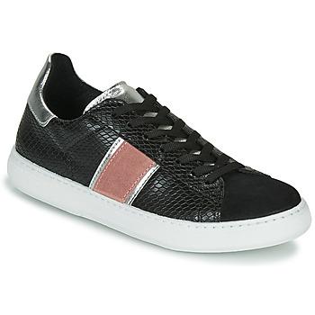 Schuhe Damen Sneaker Low Yurban LAMBONE Schwarz