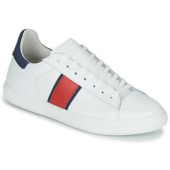 Schuhe Herren Sneaker Low Yurban LOUDE Weiß