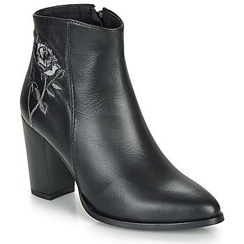 Chaussures Femme Bottines So Size BORDELO Noir