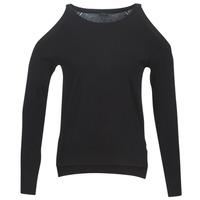 Abbigliamento Donna Maglioni Guess CUTOUT Nero