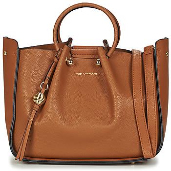 Taschen Damen Handtasche Ted Lapidus GRETEL Kognac