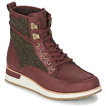 Schuhe Damen Boots Merrell ROAM MID Bordeaux