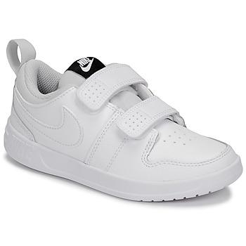 Scarpe Unisex bambino Sneakers basse Nike PICO 5 PRE-SCHOOL Bianco