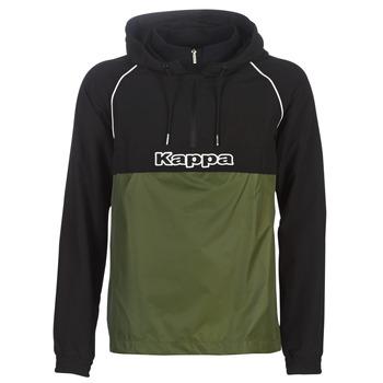 Vêtements Homme Coupes vent Kappa RISANO Noir / Kaki