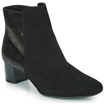 Schuhe Damen Low Boots Peter Kaiser ODILIE Schwarz