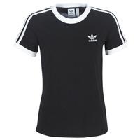 Vêtements Femme T-shirts manches courtes adidas Originals 3 STR TEE Noir