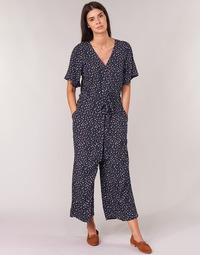 Kleidung Damen Overalls / Latzhosen Cream GERMINA Marineblau