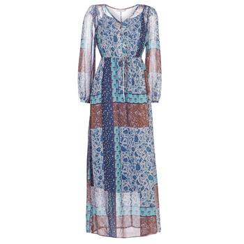 Vêtements Femme Robes longues Cream SAMA Bleu / Marron