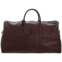 Sacs Sacs de voyage Hexagona Sac de voyage  en cuir ref_46240 Bordeaux 56*40*24 rouge