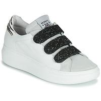 Scarpe Donna Sneakers basse Meline SCRATCHO Bianco / Glitter
