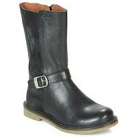 Chaussures Fille Bottes ville Aster WALI Noir
