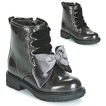 Schuhe Mädchen Boots Gioseppo LEHRE Grau