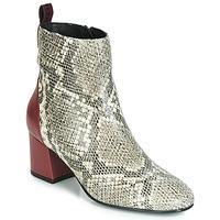 Schuhe Damen Low Boots Gioseppo NEUBURG Bordeaux