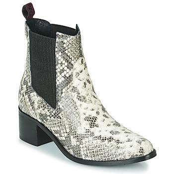 Chaussures Femme Bottines Gioseppo MIKKELI Noir / Blanc