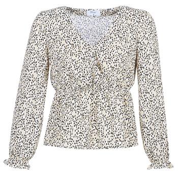 Vêtements Femme Tops / Blouses Betty London LOVA Beige / Noir