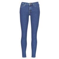 Kleidung Damen Slim Fit Jeans Lee SCARLETT STONE MILTONA Blau
