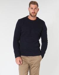 Kleidung Herren Pullover Schott PLOUTRIDER1 Marine