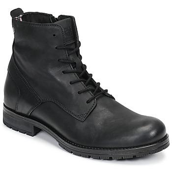 Chaussures Homme Boots Jack & Jones JFW ORCA LEATHER Noir