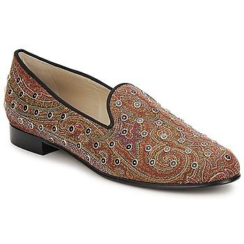Schuhe Damen Slipper Etro BORCHIE Braun