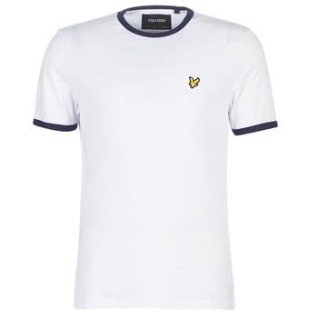 Kleidung Herren T-Shirts Lyle & Scott TS705V-Z660 Weiss