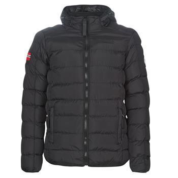 Abbigliamento Uomo Piumini Geographical Norway BALANCE-NOIR