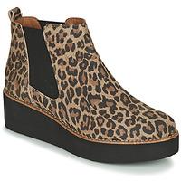 Schuhe Damen Boots Fericelli LORNA Braun