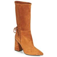 Schuhe Damen Klassische Stiefel Fericelli LUCIANA Kamel