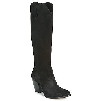 Chaussures Femme Bottes ville Fericelli LUNIPIOLLE Noir