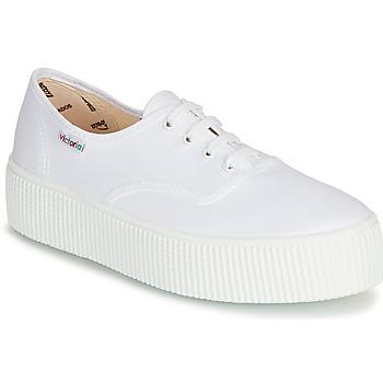 Scarpe Donna Sneakers basse Victoria 1915 DOBLE LONA Bianco