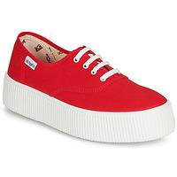 Scarpe Donna Sneakers basse Victoria 1915 DOBLE LONA Rosso