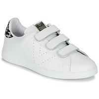 Scarpe Donna Sneakers basse Victoria TENIS VELCRO PIEL Bianco