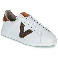 Scarpe Donna Sneakers basse Victoria TENS PRINT Bianco