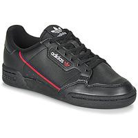 Schuhe Kinder Sneaker Low adidas Originals CONTINENTAL 80 J Schwarz