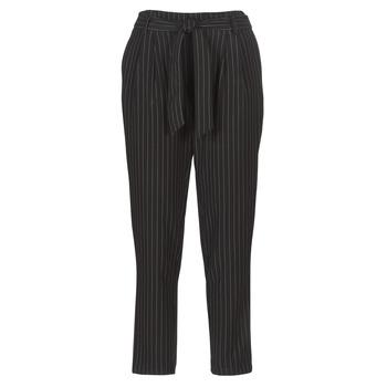Kleidung Damen 5-Pocket-Hosen Betty London LAALIA Schwarz / Weiss