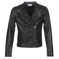 Vêtements Femme Vestes en cuir / synthétiques Moony Mood LAVINE Noir