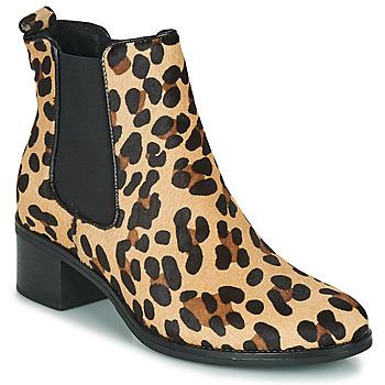 Schuhe Damen Low Boots Betty London HASNI Leopard