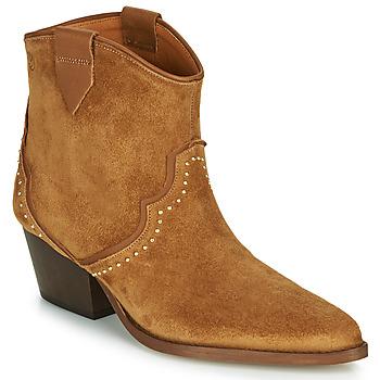 Chaussures Femme Bottines Betty London LOUELLA Camel