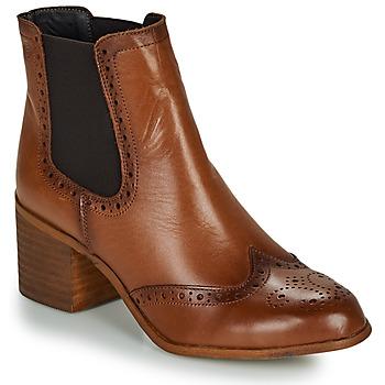 Chaussures Femme Bottines Betty London LARISSA Cognac