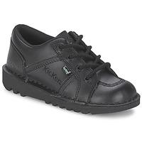 Schuhe Kinder Sneaker Low Kickers KICK LOTOE Schwarz