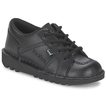 Scarpe Unisex bambino Sneakers basse Kickers KICK LOTOE Nero