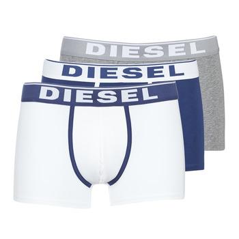 Unterwäsche Herren Boxer Diesel DAMIEN Weiss / Marine / Grau