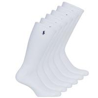 Accessoires Herren Socken & Strümpfe Polo Ralph Lauren ASX110 6PK CR PP-CREW-6 PACK Weiss