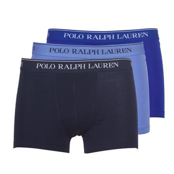 Biancheria Intima  Uomo Boxer Polo Ralph Lauren CLASSIC-3 PACK-TRUNK Blu