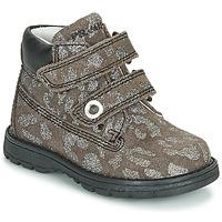 Chaussures Fille Boots Primigi ASPY 1 Gris / Argent