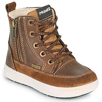 Chaussures Garçon Boots Primigi BARTH GORE-TEX Marron