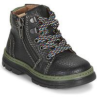 Chaussures Garçon Boots Primigi PLAY TRACK Noir