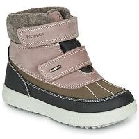 Chaussures Fille Boots Primigi PEPYS GORE-TEX Vieux Rose / Marron
