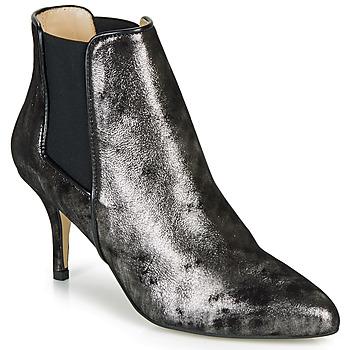 Chaussures Femme Bottines Ippon Vintage SILVER LAKE Noir / Argenté