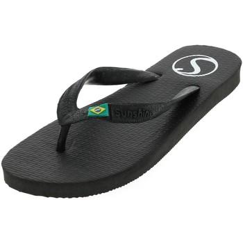 Chaussures Femme Tongs Treeker9 Pop  noir brasil tong Noir