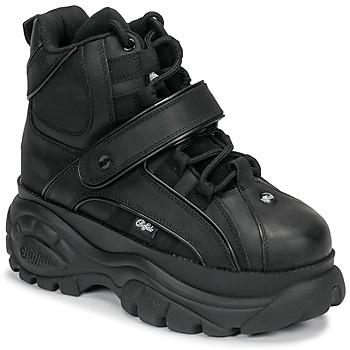 Schuhe Damen Sneaker High Buffalo 1348 Schwarz